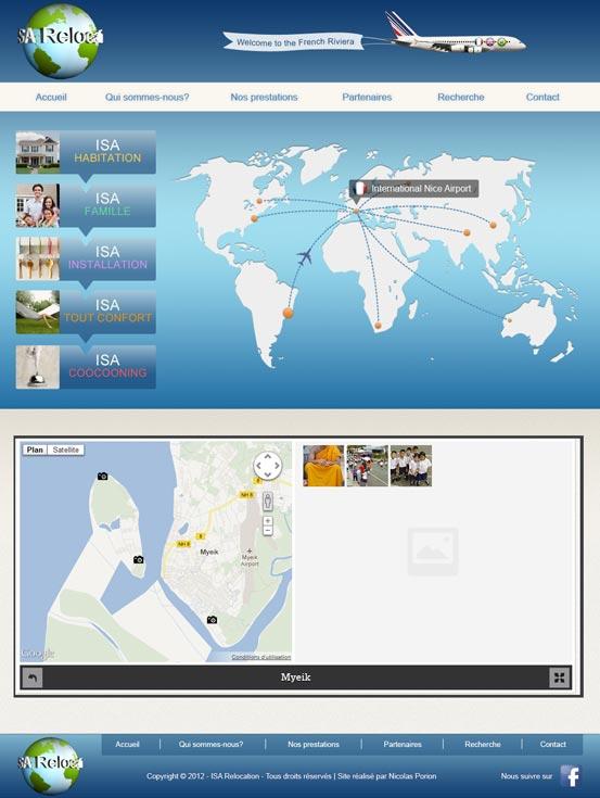Création de Webdesign pour futur site