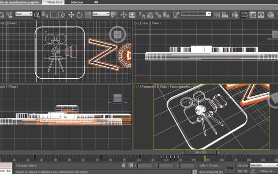 Zaptele 3D - Générique agence zaptélé