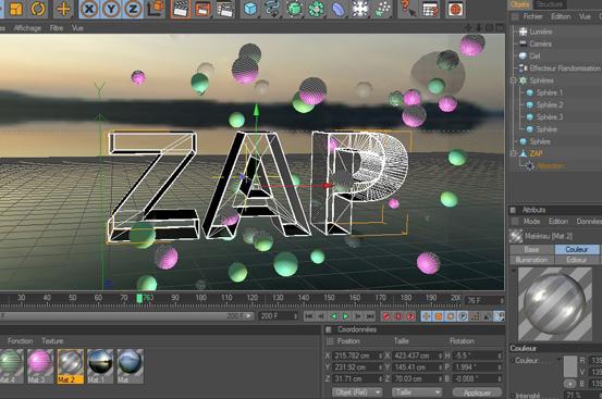 Spot zaptélé - Réalisation d'un spot semblable à celui de M6